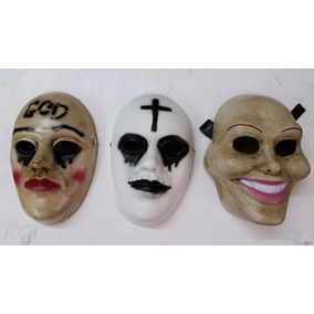 Halloween Mascaras La Purga, The Purge, Jason, Anonymus