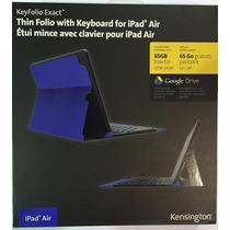 Capa Com Teclado Bluetooth Para Ipad Air Kensington