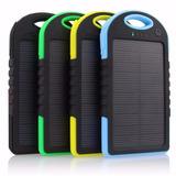 Carregador Bateria Portátil Power Bank Solar Celular Usb