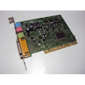 Placa De Som Pci 5.1 Creative Modelo: Ct4810 - Original