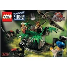 Lego Estudios Set # 1370 Parque Jurásico 3 Raptor Rumble Est