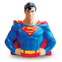 Busto Cofre Superman League Justice +batman