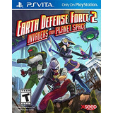 Earth Defense Force 2: Invasores De Planet Spac Envío Gratis