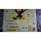 Kit Calcomanía Para Bicicletas Spiderman, Barbie Y Ben 10