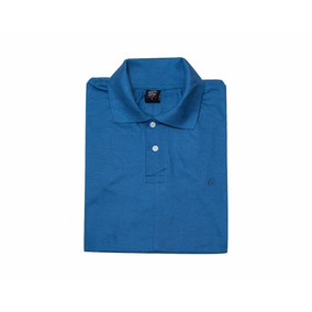Chomba Cuello Camisa Tipo Polo Algodon 100% Peinado