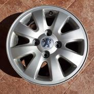 Llanta Aluminio Rueda Peugeot 207 Nueva Sin Uso