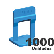 1000 Espaçador Nivelador Slim 1.0mm Porcelanato Cortag