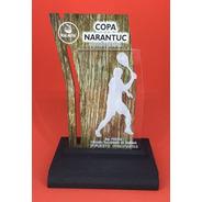 24 Trofeo Medalla Acrilico  Tenis X 15 Cm Color