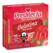 Gelatina Em Pó Morango 20g Predilecta