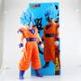 Muñeco Dragon Ball Z Goku Fase Dios Gigante 36 Cm Original
