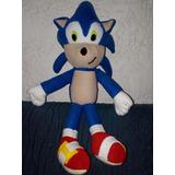Muñecos Peluches Sonic! Artesanales De Tela Precio X C/u