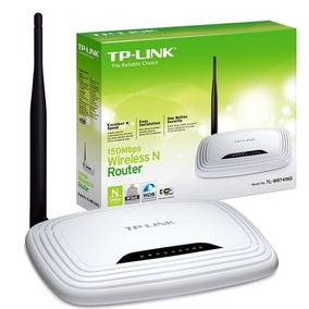 Router Tplink Wifi 150 Mbps Tl- Wr740n 1 Antena Inalambrico