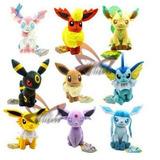 Peluche Pokemon Eevee Y Evoluciones Takara Tomy