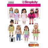 Simplicity Sewing Pattern 2302 Patrón De Costura Para Ropa D