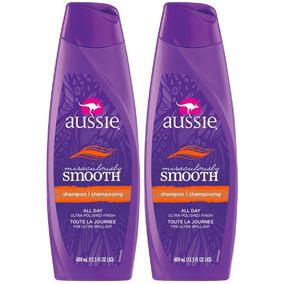 Kit Com 2 Shampoos Aussie Miraculously Smooth 400ml