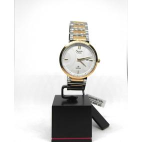 Reloj Alexandre Christie P/ Caballero Chapa Bicolor Oferta!!