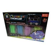 Pista Flexible Luminosa Tren Thomas Fenix Envio Full (24002)