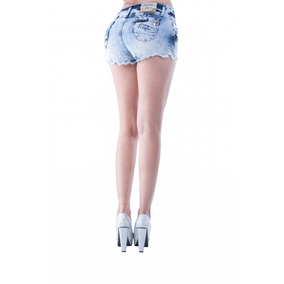 Short Mujer Mezclilla Savi Jeans Corte Colombiano N1949sh
