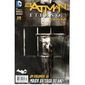 Lote Batman Eterno Novos 52 - Panini - Bonellihq Cx367 C18