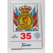 Naipes Cartas Españolas X 40 Fournier 35 Juego Truco