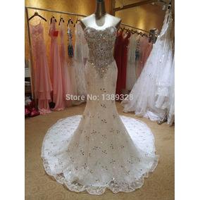 Vestido De Noiva Sereia Bordado