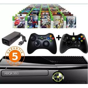 Xbox 360+2controles+3800 Juegos+5 A Elección Chitogames