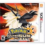 Pokemon Ultra Sun / Sol / Moon / Luna 3ds Fisico Sellado