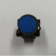 Botão Pulso Azul Chint Np2-ea61 22mm (kit Caixa 10 Peças)