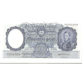 Bottero # 2102 Valor 500 (pesos M$n ) Año 1957