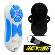 Control Remoto De Stereo A Distancia Jfa K600 Blanco C/azul
