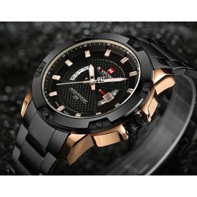 Reloj Hombre Naviforce Militar Y Deportivo, Análogo Nf9085