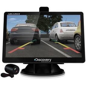 Gps Auto Aquarius Discovery Tela 4.3 Com Tv E Câmera Ré