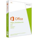 Licencia Original: Office Hogar Y Estudiantes 2013