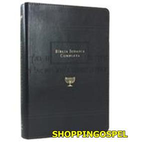 Bíblia Judaica Completa Luxo Couro Preta