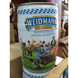 Barril Cerveza Weidmann X 5 Litros Hefeweizen Alemana