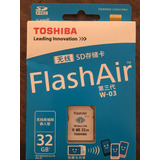 Tarjeta De Memoria Toshiba Sd 32 Gb Con Wifi/wireless