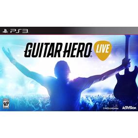 Guitarra Com Jogo Guitar Hero Live Bundle Playstation 3 Ps3
