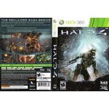 Jogo Halo 4 Para Xbox 360, Incluindo Capa Para Avatar