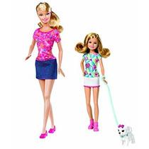 Juguete Barbie Hermanas Pup Paseo Barbie Y Stacie Muñeca 2-