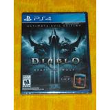 Diablo 3 Ultimate Evil Edition Nuevo Fisico Sellado Español
