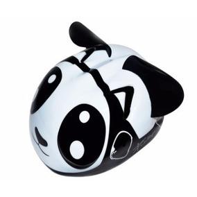 Casco Infantil Para Bicicleta Niños 1 A 4 Años, Panda