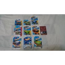 Hot Wheels Lote 10 Pzas, Autos Tipo Nascar, 1/64