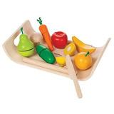 Plan Toys Surtido De Frutas Y Verduras (solid Versión De Ma