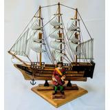Escena Náutica Barco Corsario