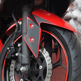 Protetor Adesivo Paralama Lateral Moto Kawasaki Ninja 300