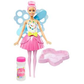 Boneca Articulada - Barbie Dreamtopia - Fada Bolhas Mágicas