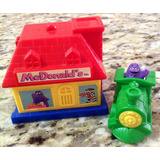 Brinquedo Casa Brinde Lanche Mc Donald