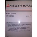 Filtro Gasolina Mitsubishi Lancer 1.6 2.0 Touring Original