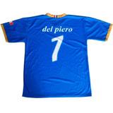 Franela Camiseta Futbol Italia Del Piero Talla M Nueva