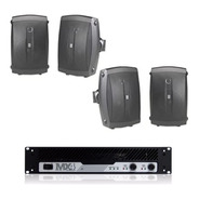 Yamaha Audio Instalacion 4 Bocinas Nsaw190 Amplificador Mx4